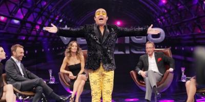 Cecilia Pérez encaró a Daniel Alcaíno por polémica rutina humorística