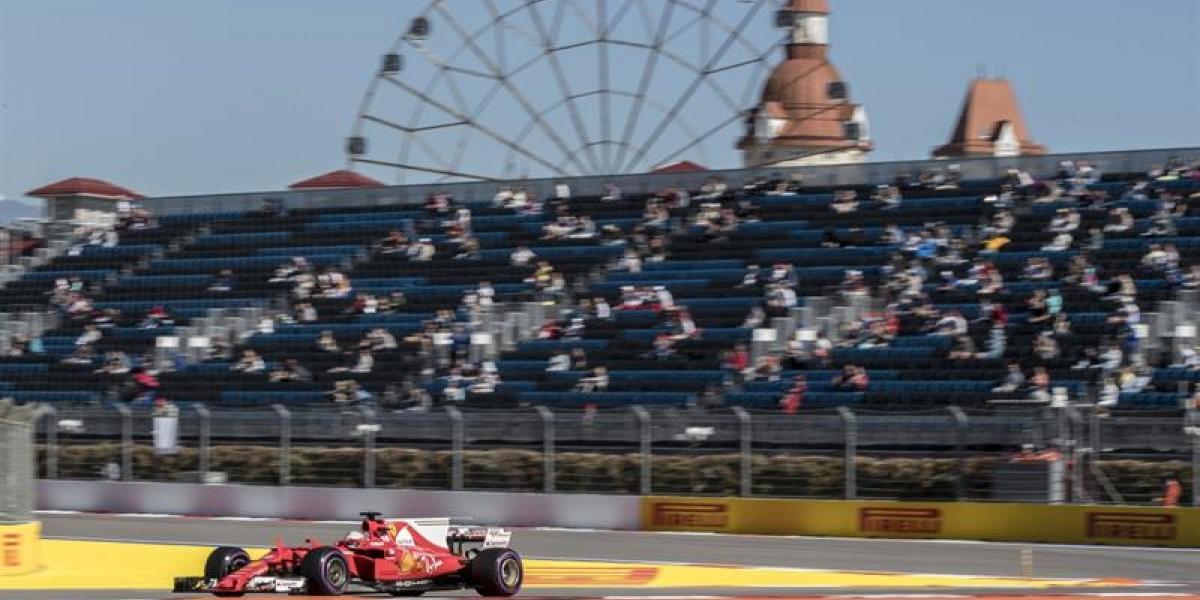 Sebastian Vettel se adjudicó la pole en el GP de Rusia