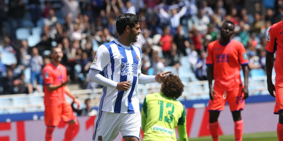 VIDEO: El gol de Vela que descendió al Granada y a Ochoa