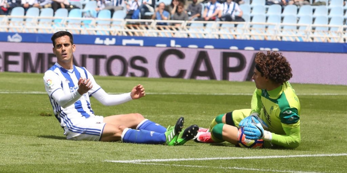 Ochoa y el Granada caen ante la Real Sociedad y firman su descenso