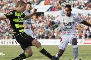 """Jaguares se pierde """"la salvación"""" y termina empatando con Santos"""