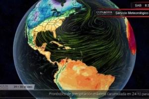 Pronóstico del Tiempo para este 29 y 30 de abril