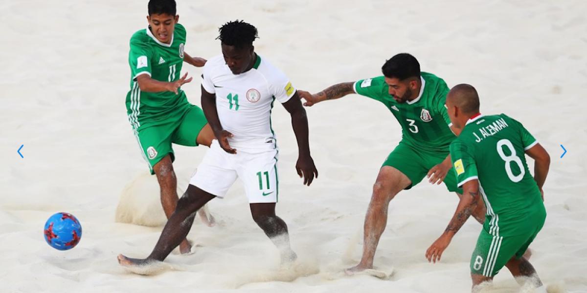 México queda eliminado del Mundial de Futbol de Playa en Bahamas