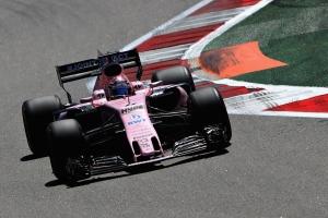 'Checo' Pérez iniciará el GP de Rusia en la novena posición