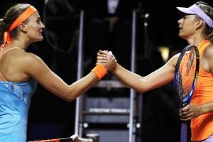 Terminó el sueño de María Sharapova en Stuttgart
