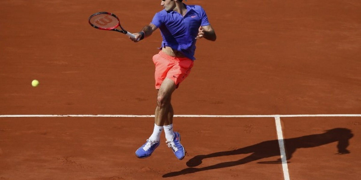 """Federer se prepara para Roland Garros: """"Quizás doy el golpe, ¿quién sabe?"""""""