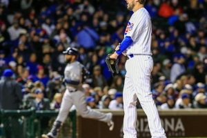 Lackey dominó en victoria de los Cubs a Boston