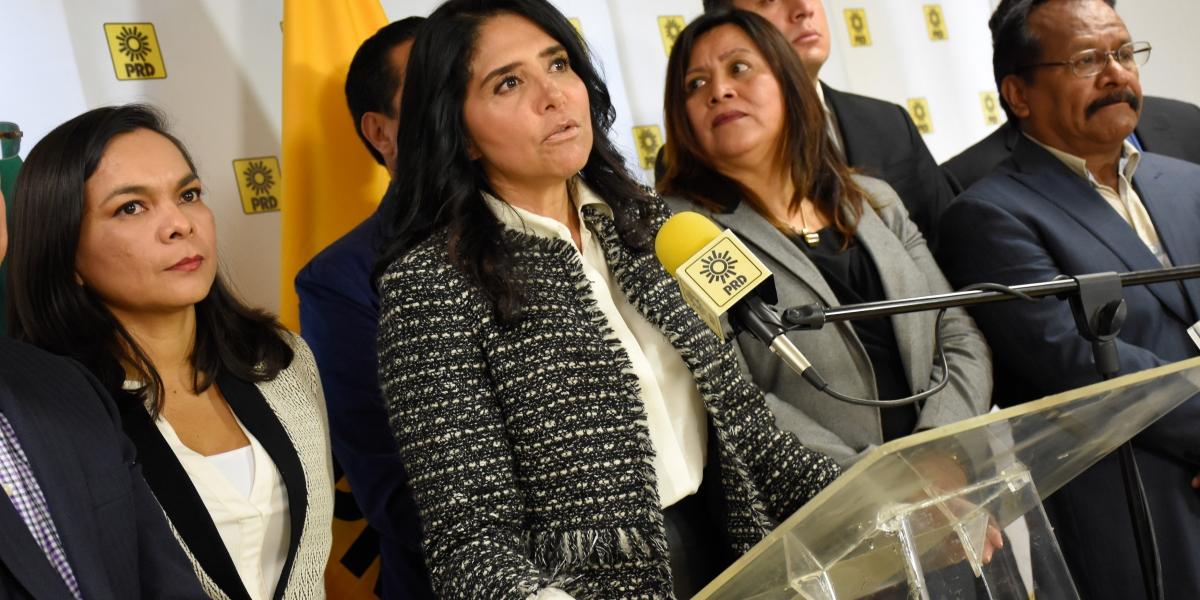 PRD aún no tiene definida una alianza con Morena: Barrales
