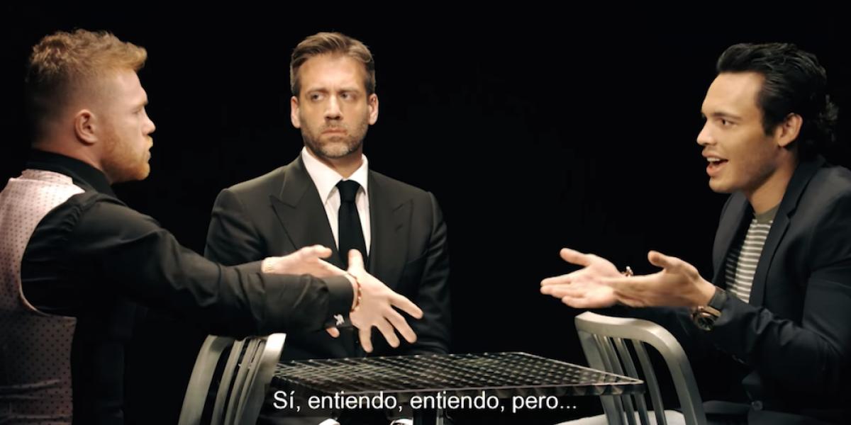 """VIDEO: ¡Siempre sí! """"Canelo"""" y Chávez Jr. apuestan sus ganancias"""