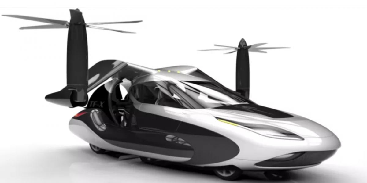 ¿Volaremos en autos?