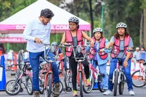 Ciclotón y medio maratón afectan vialidades en la Ciudad de México