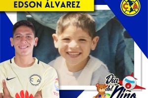 FOTOS: Futbolistas celebran Día del niño recordando su infancia