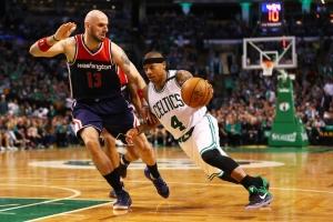 Con gran actuación de Isaiah Thomas, Celtics toman ventaja en serie ante Wizards