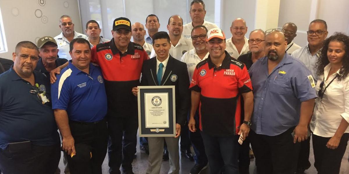 Puerto Rico logra récord Guinness de autos antiguos