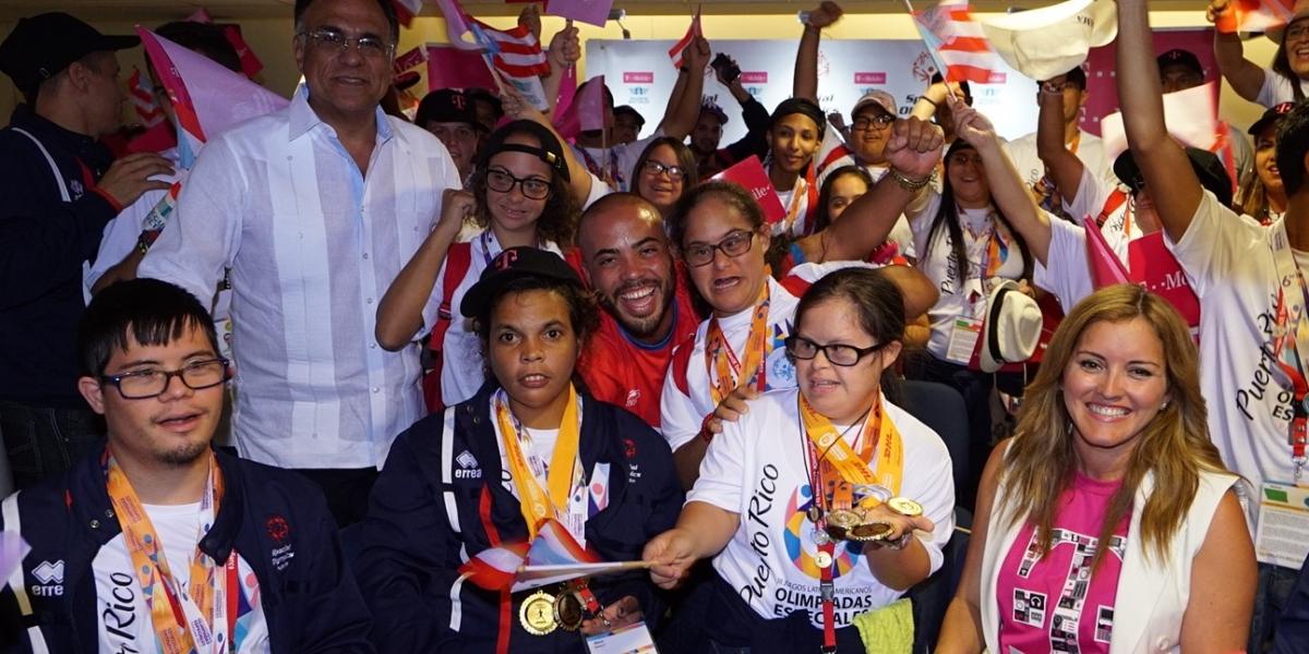 Cargados de medallas delegación boricua de Olimpiadas Especiales