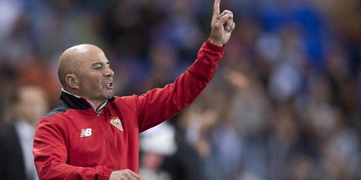 El Sevilla de Sampaoli sufre dura goleada y pierde el tercer lugar de la Liga española