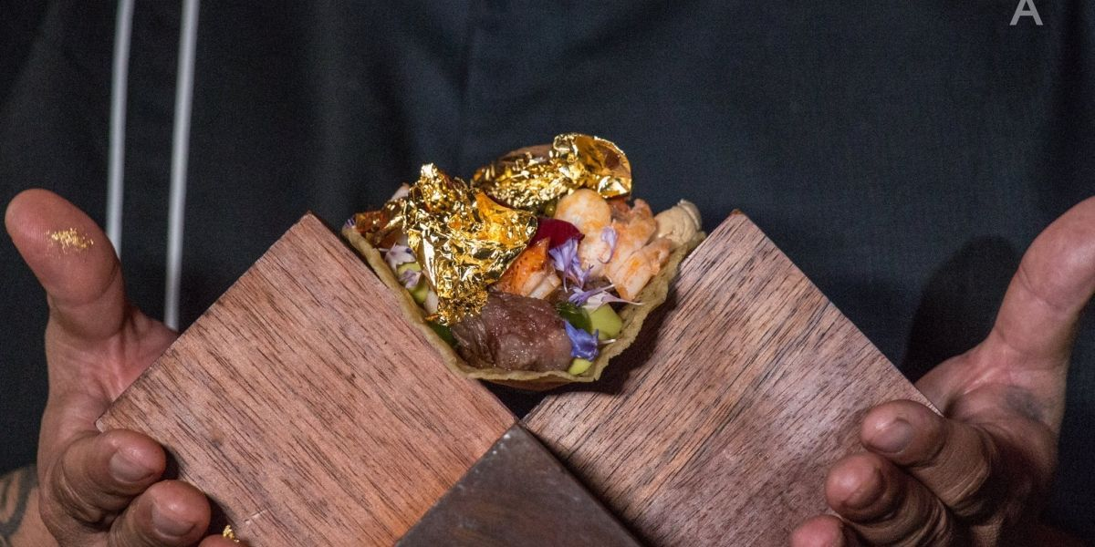 Ya se comieron el taco más caro del mundo: cuesta 7 mil dólares