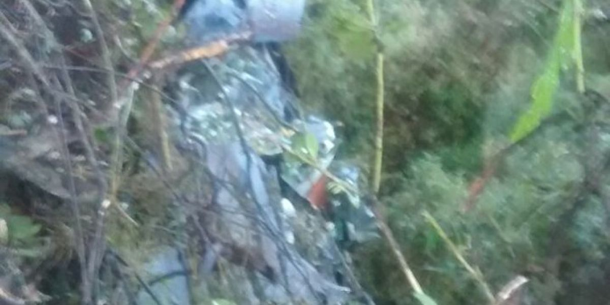 Avioneta con ocho ocupantes se accidentó en Facatativá, Cundinamarca
