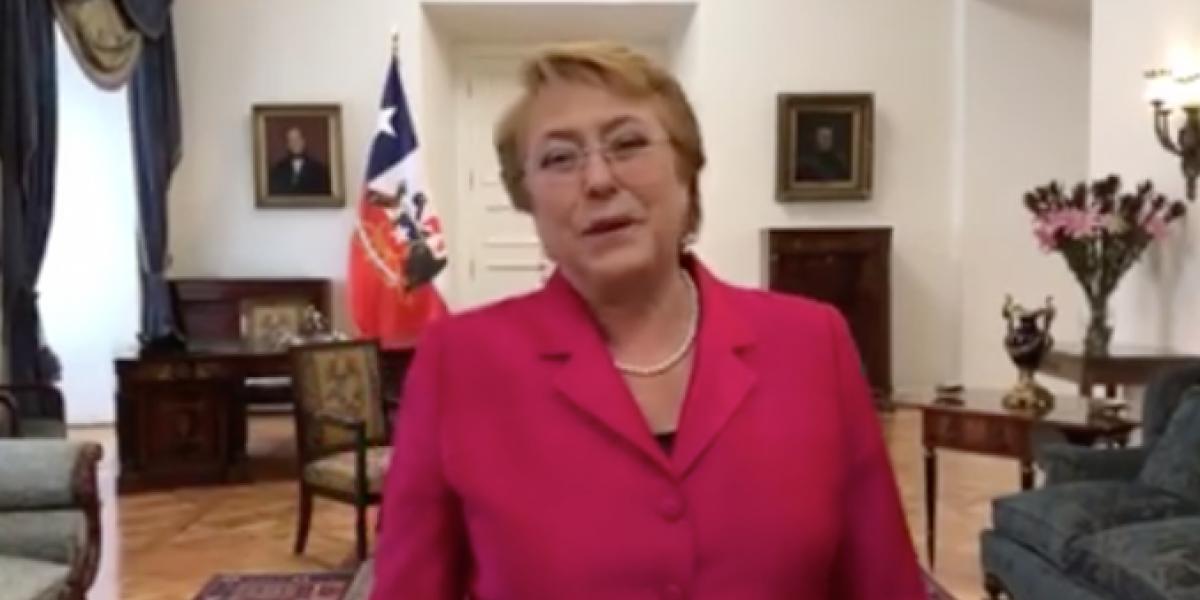 """Bachelet saluda a los trabajadores por el 1 de mayo: """"Hemos tenido avances muy importantes"""""""