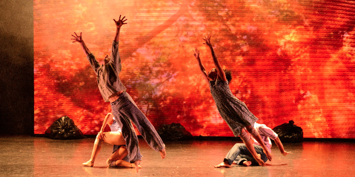 'Cicatrices y sueños': danza contemporánea a ritmo de paz en el Teatro Colón