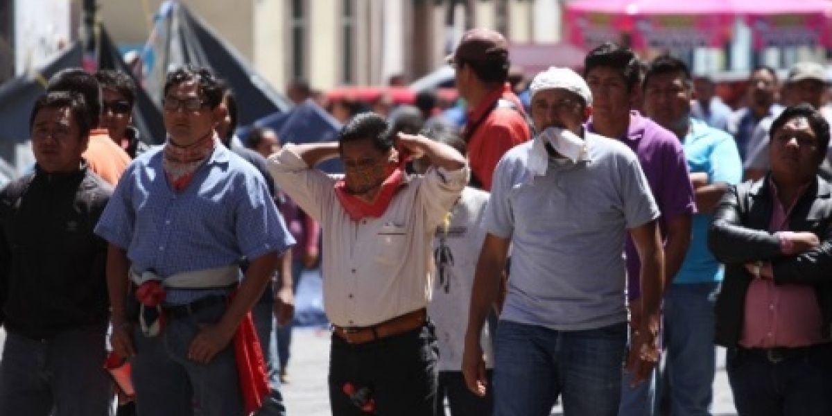 CNTE amenaza con nuevo paro de labores en Oaxaca