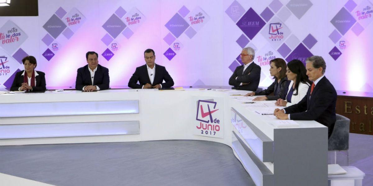 Segundo debate en Edomex, el próximo 9 de mayo