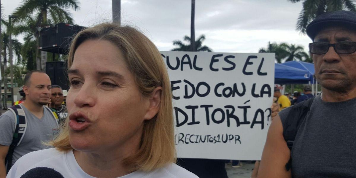 Carmen Yulín Cruz: El Gobierno tiene que escuchar