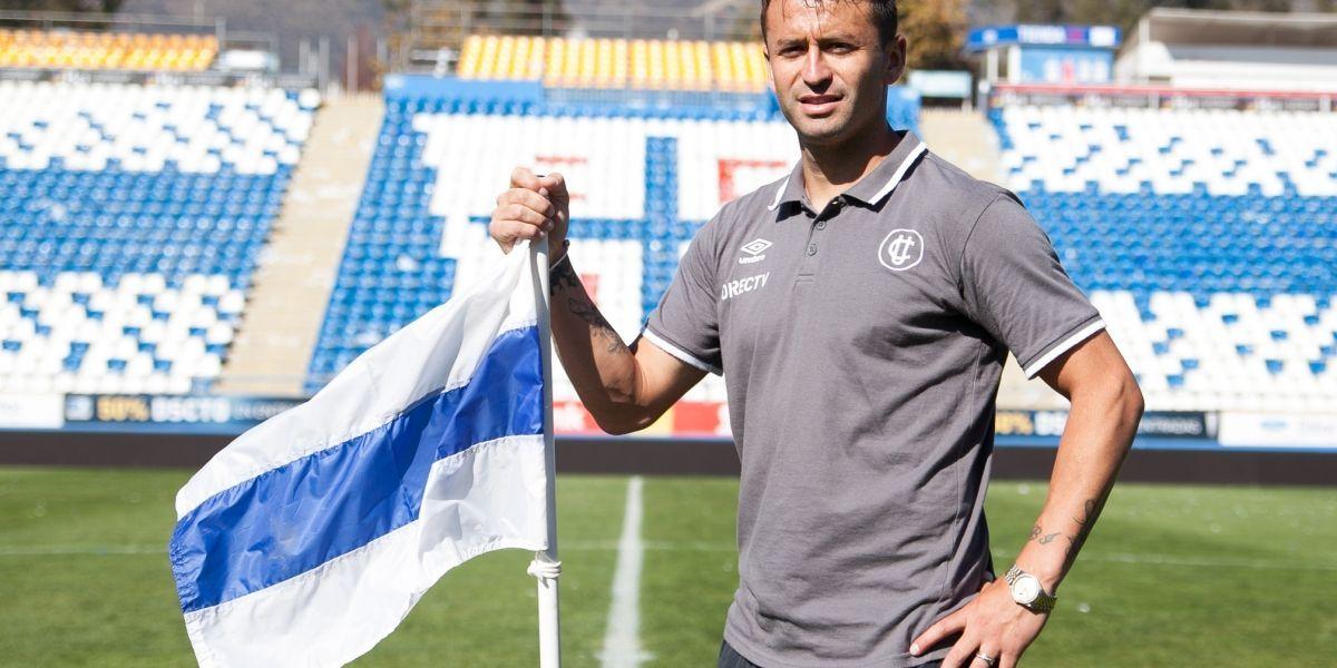 """Titularidad y renovación, los deseos del Pájaro Gutiérrez en la UC: """"Tengo mucha confianza, sé muy bien la calidad de jugador que soy"""""""