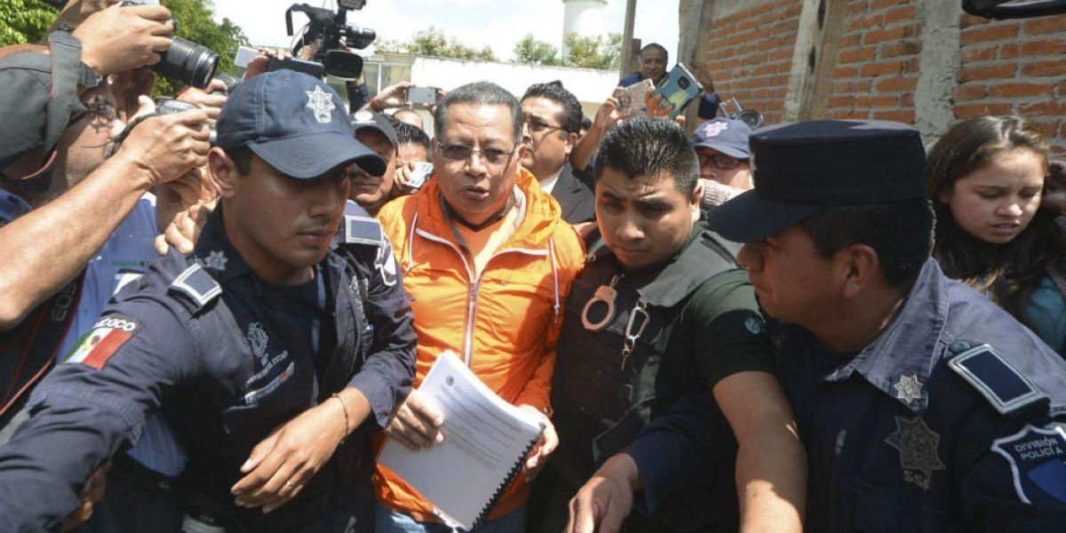 Flavino Ríos queda libre tras pagar fianza de cinco millones de pesos