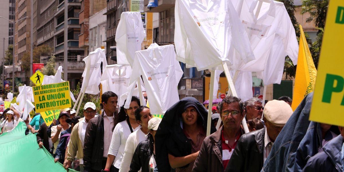 Sin disturbios se desarrollaron marchas del Primero de Mayo en el país