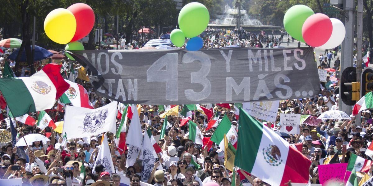 Así se llevan a cabo las marchas por el Día del Trabajo