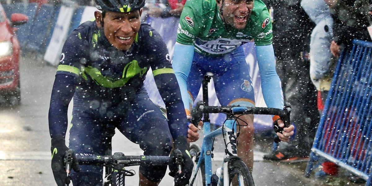 Nairo Quintana es segundo en la general de la Vuelta a Asturias