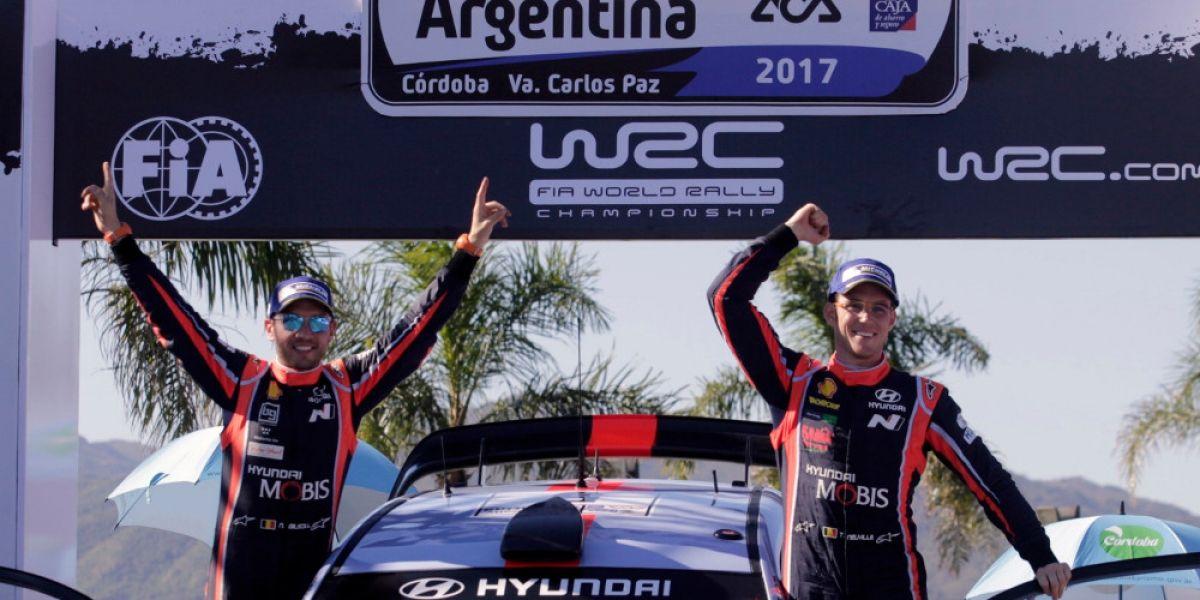 Con una remontada fantástica, Neuville gana rally de Argentina