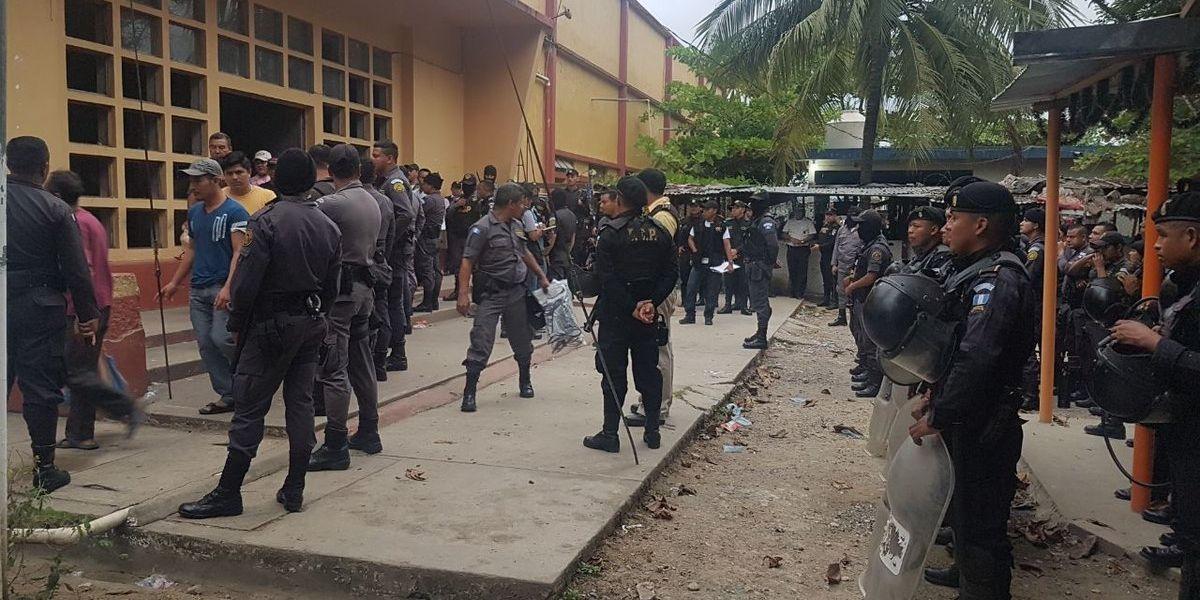 La sorpresiva requisa en la cárcel de Puerto Barrios