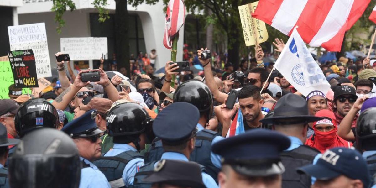 Identifican a diez detenidos por la Policía