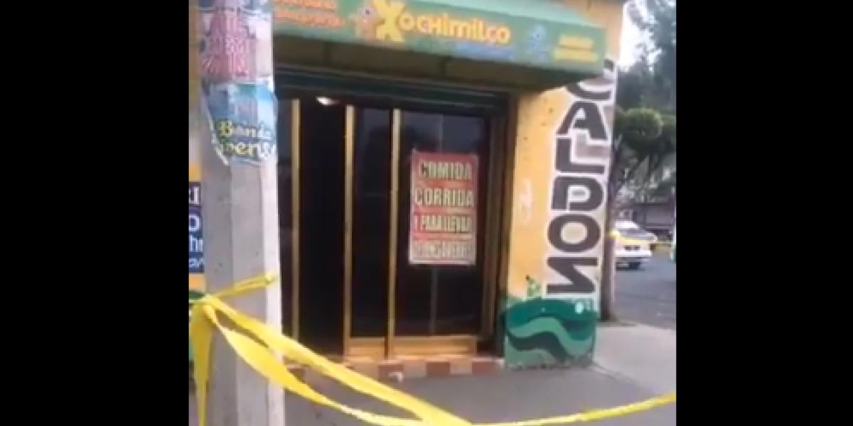 Balacera en marisquería de Xochimilco deja un muerto y tres heridos