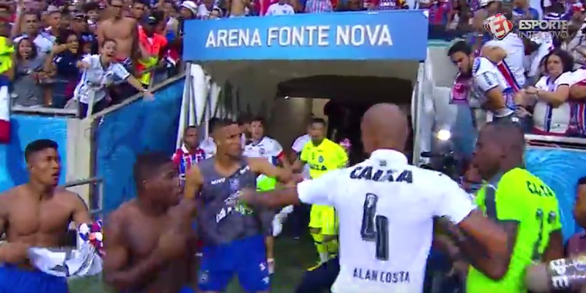 Se desató batalla campal en el futbol brasileño