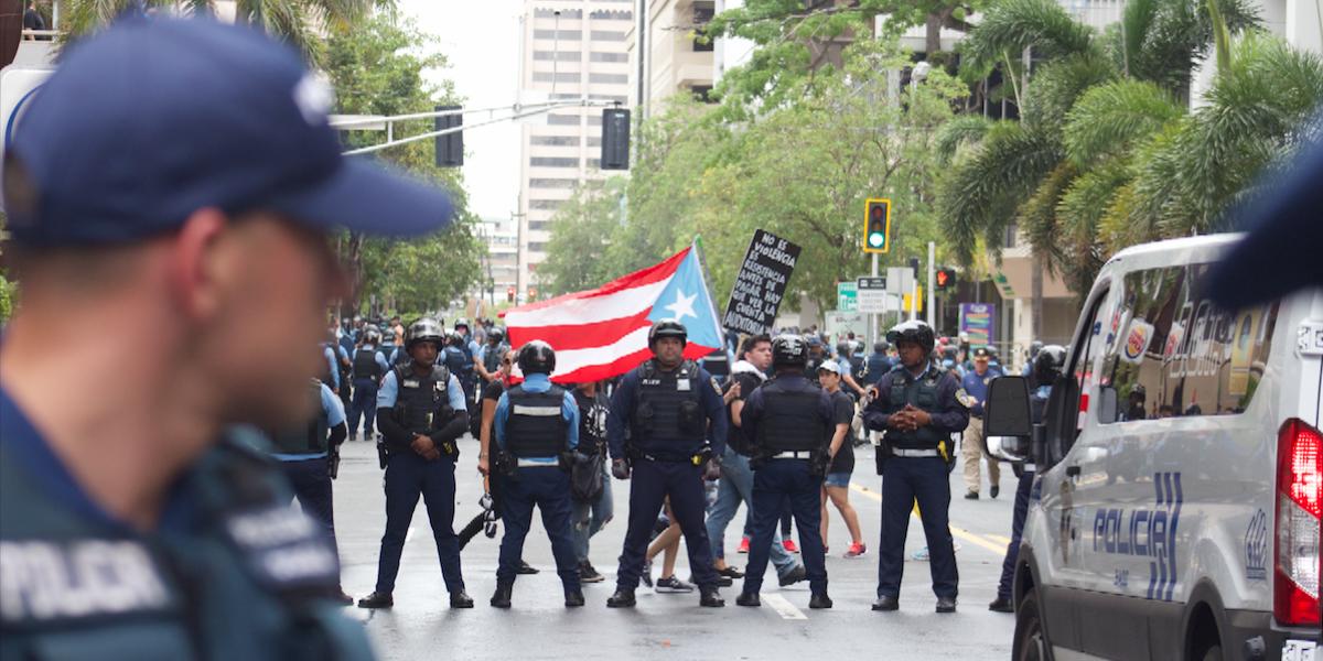 Paro nacional: contundente manifestación en contra de las medidas de austeridad