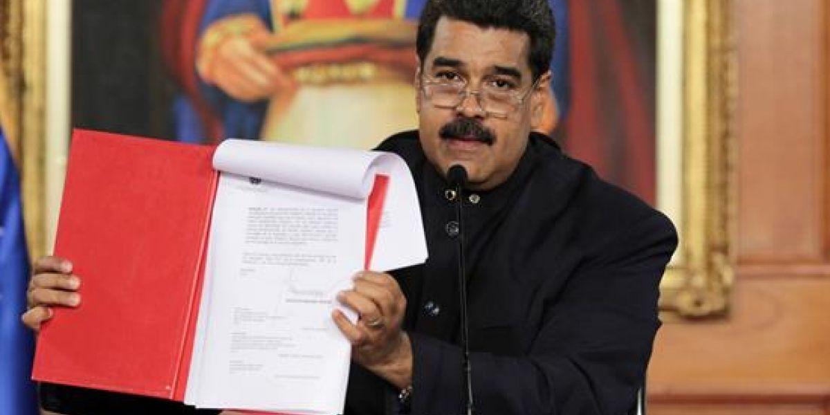 Venezuela: ¿Qué significa que Nicolás Maduro convoque a una Asamblea Nacional Constituyente?