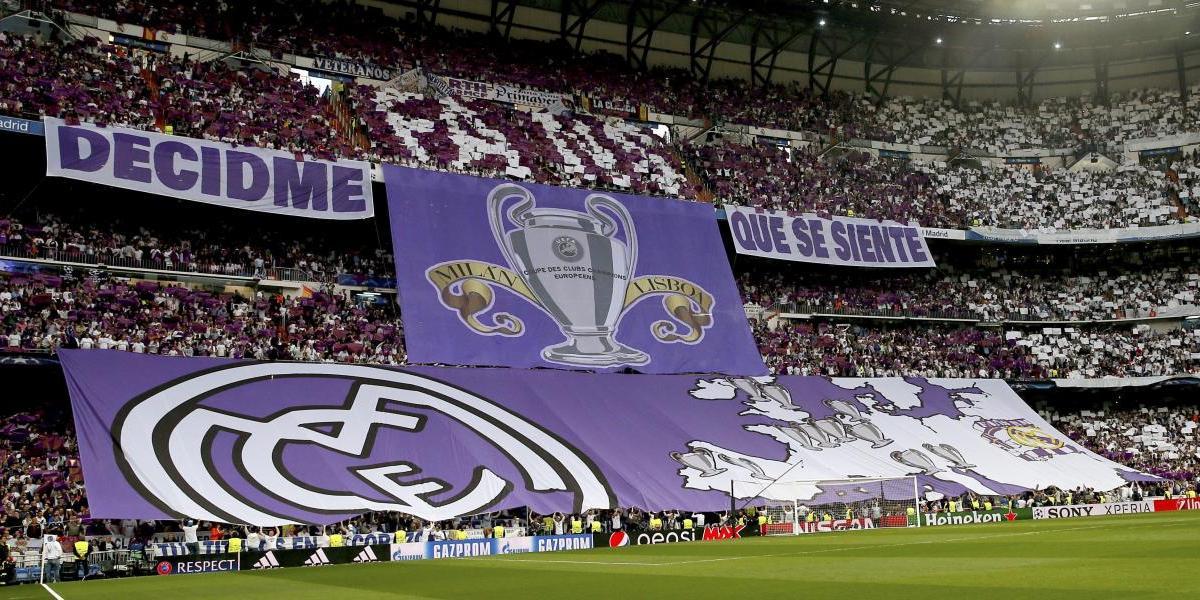 """""""Decidme que se siente"""": El burlesco mosaico del Real Madrid contra Atlético de Madrid"""