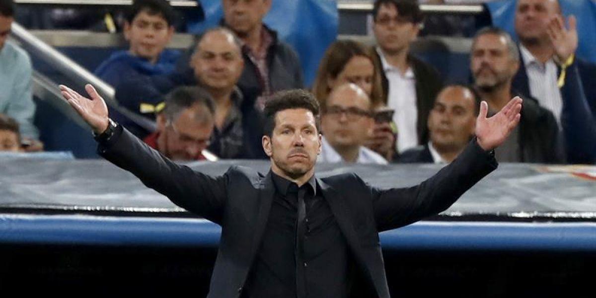 """Diego Simeone confía en la remontada: """"El fútbol tiene cosas inesperadas"""""""