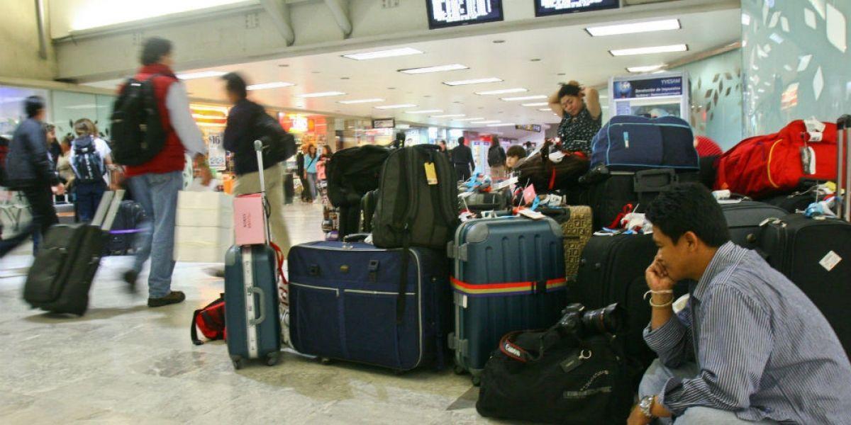 Reducen número de equipaje permitido en vuelos