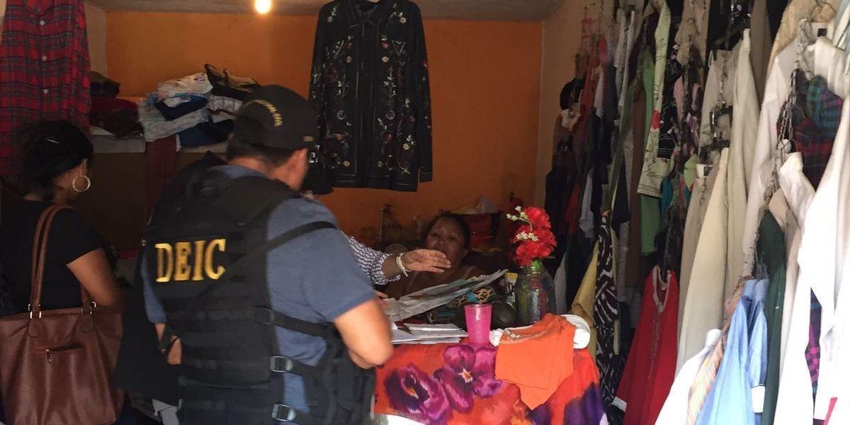 PNC rescata a víctimas y captura a sindicados de trata de personas
