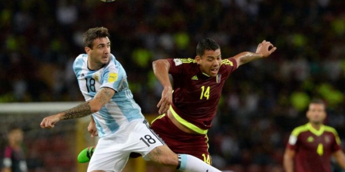 Venezuela y Argentina empatan en partido donde Messi fue el gran ausente