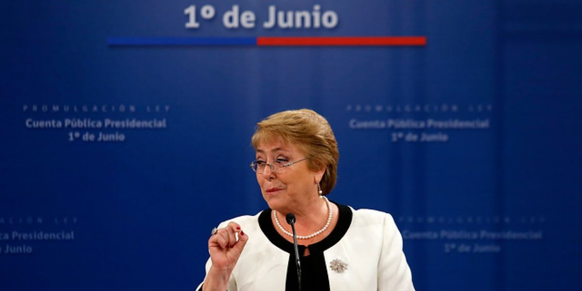 Bachelet promulga cambio de fecha de la cuenta pública: del 21 de mayo al 1 de junio