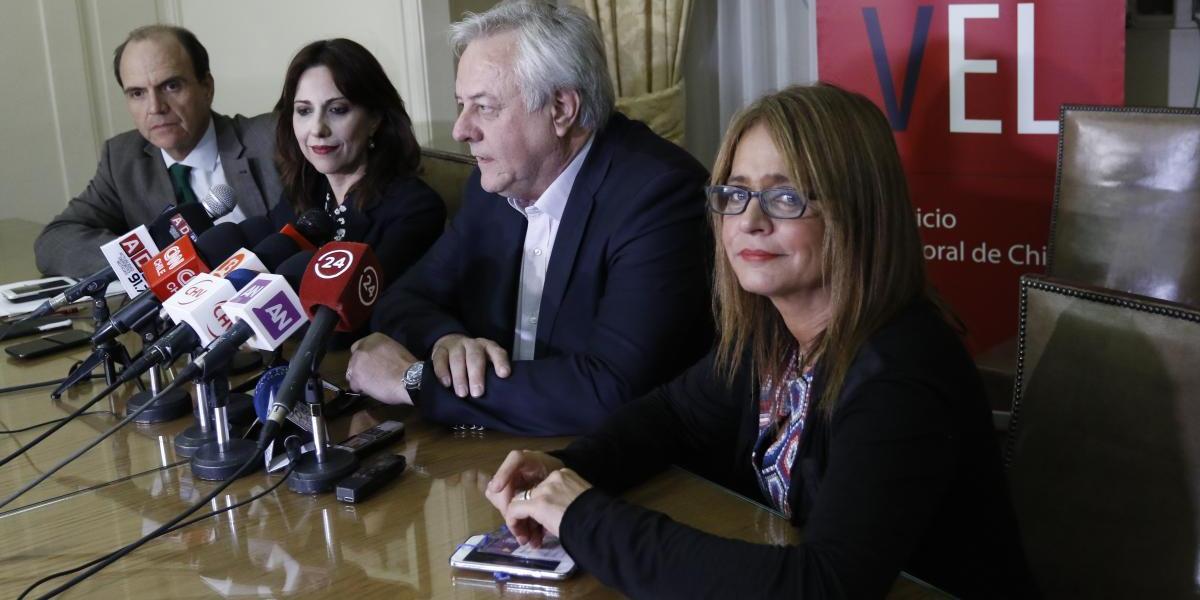 Elecciones primarias: Chile Vamos inscribió oficialmente a Piñera, Ossandón y Felipe Kast