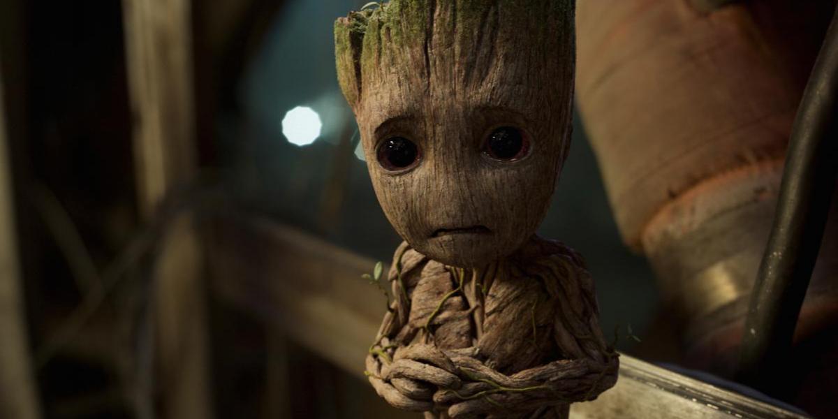 Baby Groot, el tierno ladrón de Guardianes de la Galaxia Vol. 2