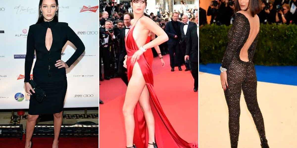 La evolución de Bella Hadid en la alfombra roja: del conservadurismo a la irreverencia