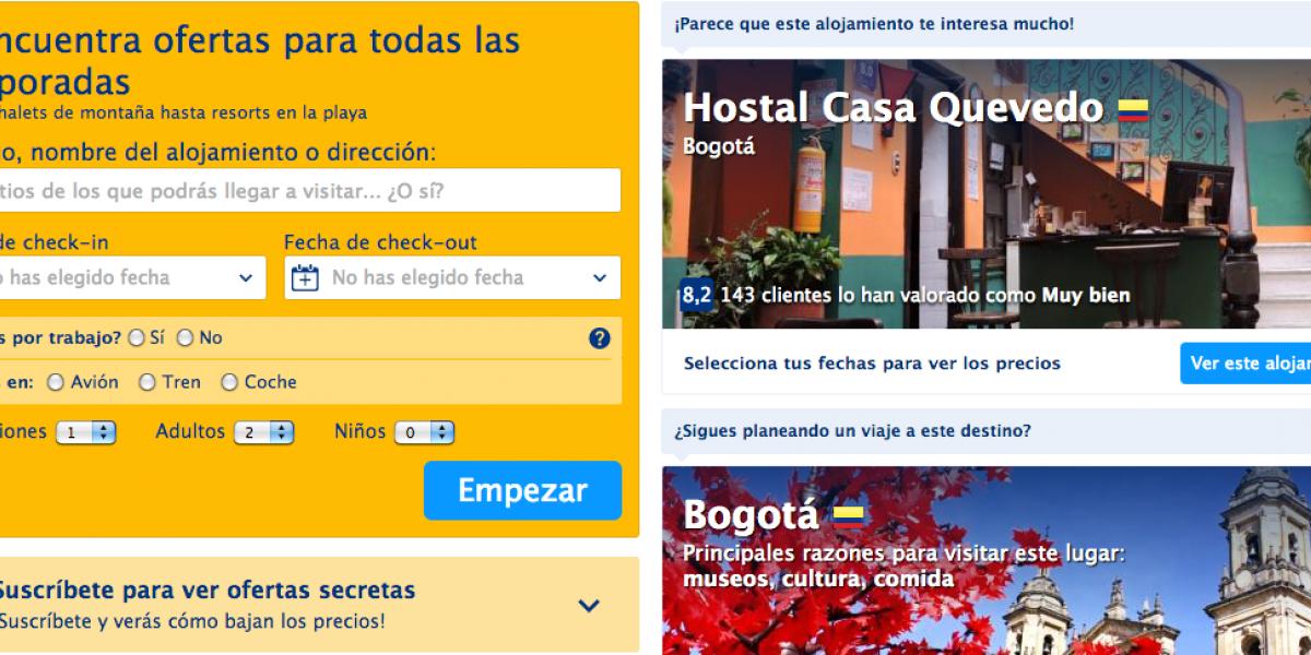 Gobierno sanciona a Booking.com por operar de manera informal