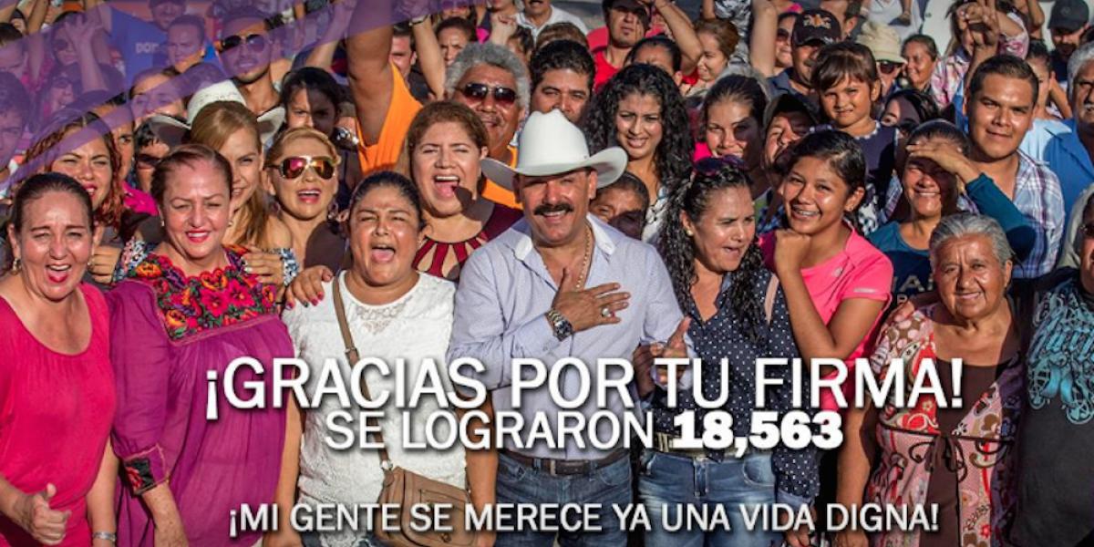 """Aprueban candidatura independiente a """"El Chapo de Sinaloa"""" en Nayarit"""
